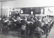 107教室での授業風景写真