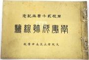 115『開校20周年記念学事成跡綜覧』(1915(大正4)年)実物