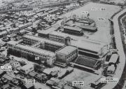 ③旧校舎航空写真 (1960年代)